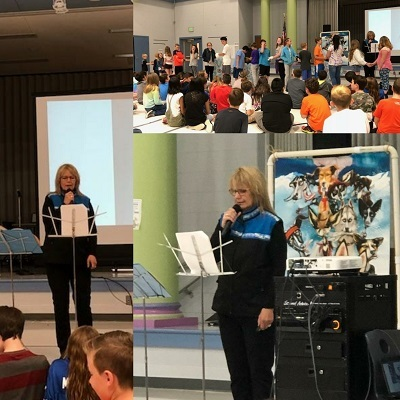 Author Deb Glenn Visited Wyandotte